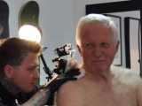 Question Time's David Dimbleby gets first tattoo aged 75 48036