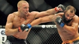 UFC 167 results: GSP beats Hendricks, says he's stepping away 48072
