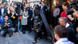 Five-year old leukemia survivor takes San Francisco by storm as 'Batkid' 48115