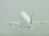 Jumbo 747 Dreamlifter takes off after being stranded at tiny Kansas airport 48226