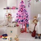 your children's room this Christmas with colourful decorations 48667