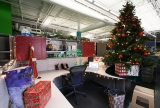 corner decoration ideas for Christmas work 48679