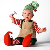 cute baby for Christmas Eve 48713