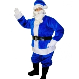 blue costume for Santa 48718