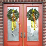 door decoration for Christmas season 48748