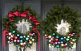 make decorative wreath on your door 48749