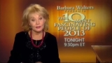 Barbara Walters airs final 'Most Fascinating People' in 2013 48936