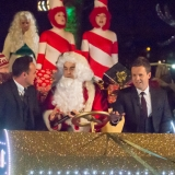 Robbie Willams Plays Father Christmas For Opening Song 48971