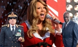 Mariah Carey celebrates Christmas with another dictator 49057