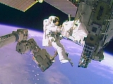 In Spacewalk, Astronauts Complete Repairs to Station 49092