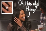 Gabrielle Union Flaunts Her Engagement Ring While Dwyane Wade Takes Down The Lakers 49170